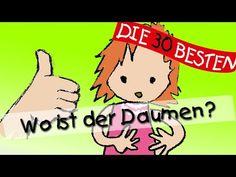 Wo ist der Daumen - Die besten Spiel- und Bewegungslieder || Kinderlieder - YouTube