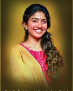 Painting oil tutorial mobiles 30 New Ideas Cute Beauty, Beauty Full Girl, Beautiful Indian Actress, Beautiful Actresses, Beautiful Girl Sketch, Sai Pallavi Hd Images, Samantha Images, Couple Photoshoot Poses, Background Images Hd