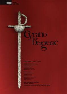 cyrano de bergerac / josellopis.com / design / communication campaign / poster / creative art / opera / performing arts