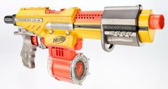 Not to be confused with the 2013 N-Strike Elite Alpha Trooper The Alpha Trooper is a clip system Nerf blaster that was released in 2010 under the N-Strike series. Cheap Nerf Guns, Cool Nerf Guns, Nerf Stampede, Nerf Games, Nerf Mod, Steampunk Gun, Holiday List, War Machine, Legos