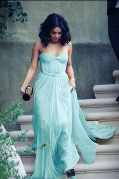 Simple Long Chiffon Evening Dress Sweetheart Neck Formal Party Dress Floor Length