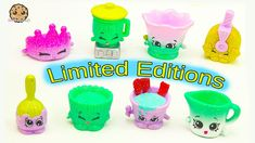 All CUTEtensils Season 6 Chef Club Shopkins Limited Edition Complete Set...