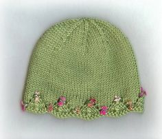 One Day Baby Hat by lv2knit, via Flickr Free on ravelery