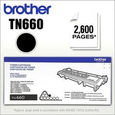 Brother - TN660 Toner Cartridge - Black