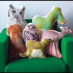 Fauna Pillows