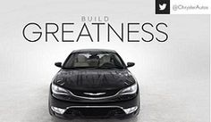 The All-New 2015 Chrysler 200 App - A must have for new 200 owners. (Available for Apple and Android)