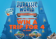 Dippin' Dots Jurassic World Sweepstakes