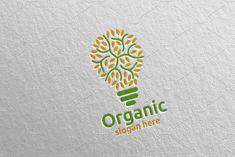 Idea Natural and Organic Logo design template 24 Logo Desing, Logo Design Template, Logo Templates, Wine Logo, Organic Logo, Company Brochure, Wine Design, Professional Logo Design, Textures Patterns