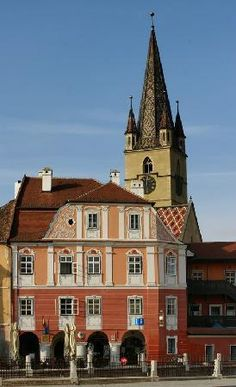 Casa Luxemburg Piata Mica No. 16, Sibiu 550182, Romania
