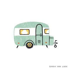 A Year of Us 2019 / Over a 100 illustrations for the book 'A Year of Us: A Couples Journal'. Written by Alicia Muñoz. Vintage Caravan Interiors, Vintage Caravans, Festival Camping, Camping Photography, Car Illustration, Doodle Designs, Cute Drawings, Cute Art, Collages