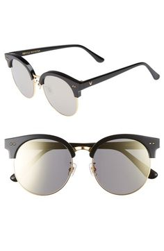 2ff9a0cc2fc9 GENTLE MONSTER MOON CUT 54MM ROUNDED SUNGLASSES - BLACK MIRROR.   gentlemonster  . ModeSens