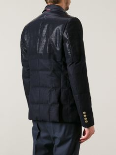 Moncler Gamme Bleu Coated Quilted Jacket.