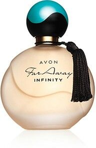Far Away Infinity Eau de Parfum Spray. Escape to a world of infinite possibilities with this long-lasting floral infusion of luminous marigold and Indian jasmine sambac veiled in sensual vanilla. Perfume Glamour, Perfume Prada, Perfume Diesel, Avon Perfume, Best Perfume, Perfume Bottles, Perfume Fragrance, Calendula, Perfume Collection