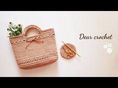 [코바늘 여름가방] 스타샤인 여름가방 뜨기 (crochet summer bag) - YouTube Crochet Cross, Diy Crochet, Summer Bags, Creative Crafts, Straw Bag, Crochet Patterns, Cross Stitch, Sewing, Knitting