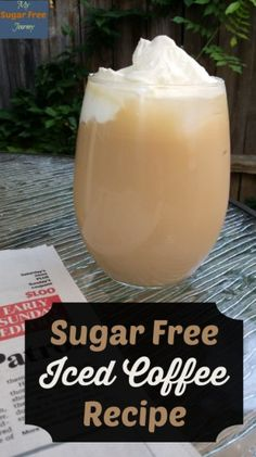 Sugar Free Iced Coffee Recipe Summer in Texas means blistering hot days and nights that are almost as bad so we are always looking for ways to cool down and stay Sugar Free. Here's our delicious recipe for Sugar Free Iced Coffee. Sugar Free Recipes, Keto Recipes, Ketogenic Recipes, Healthy Recipes, Sugar Free Iced Coffee, Diabetes Tipo 1, Coffee Date, Coffee Coffee, Italy Coffee