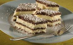 Fantastická dobrota bez pečenia: Kokosíno - Báječná vareška Czech Desserts, Desserts To Make, Baking Recipes, Cookie Recipes, Dessert Recipes, Croatian Recipes, English Food, Mini Cakes, No Bake Cake