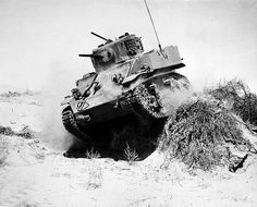 M5 Stuart tank North Africa. ~ BFD