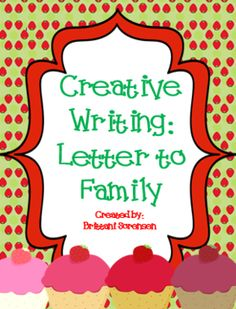 Writing Projects: Letter to Family from MadForKinder on TeachersNotebook.com -  (3 pages)  - Writing Projects: Letter to Family