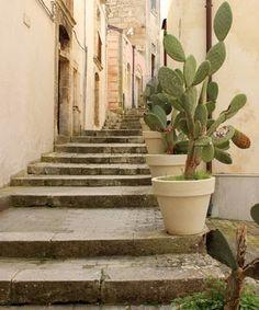 Staircase in Ragusa Ibla