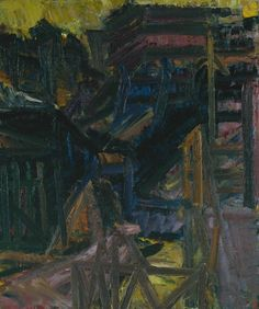FRANK AUERBACH - TO THE STUDIOS, 1979-80