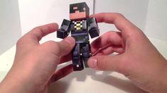 Minecraft papercraft bendable SkyDoesMinecraft