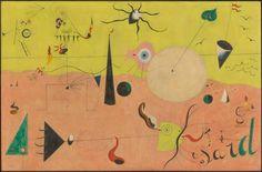 Joan Miró, The Hunter (Catalan Landscape), 1924.