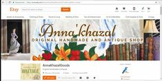 Personalized Etsy Banner Customized Shop Cover Made By Your Own Idea by AnnaKhazal on Etsy Create A Banner, Handmade Art, Handmade Gifts, Custom Banners, Antique Shops, Kind Words, Banner Design, Etsy Vintage, Etsy Store