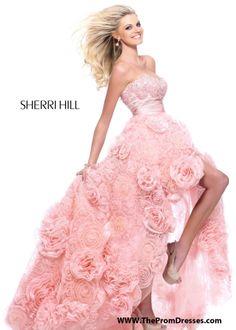 Sherri Hill Prom Dresses and Sherri Hill Dresses 21170 at Peaches Boutique from Peaches Boutique. Saved to Fancy Dresses. High Low Prom Dresses, Sherri Hill Prom Dresses, Pink Prom Dresses, Grad Dresses, Spring Dresses, Homecoming Dresses, Formal Dresses, Wedding Dresses, Prom Gowns