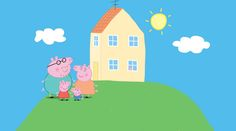 Peppa Pig House Coloring Pages For Kids Peppa Pig Coloring Book Myfun Toys Peppa Pig Coloring Pages, Coloring Pages For Kids, Coloring Books, Painel Peppa Pig, Peppa Pig Background, Birthday Background, Peppa Pig Familie, Peppa Pig Images, Peppa Pig Wallpaper