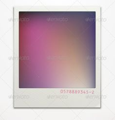 Polaroid Photo Frame  #GraphicRiver         Vector illustration of blank retro polaroid photo frame over soft background with color correction layer for vintage faded look of your photos. Easy to use.  	 Zip file contains fully editable EPS10 vector file and high resolution RGB Jpeg image.     Created: 12December12 GraphicsFilesIncluded: JPGImage #VectorEPS Layered: No MinimumAdobeCSVersion: CS Tags: art #background #blank #design #element #empty #film #frame #illustration #image #instant…