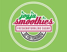 """Check out new work on my @Behance portfolio: """"Logo design Smoothies"""" http://be.net/gallery/47684829/Logo-design-Smoothies"""