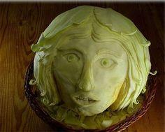 food art,food sculpture
