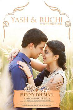 YASH & RUCHI #best #wedding #photography in #chandigarh & #Delhi  #pre #wedding #photoshoot by #sunnydhimanphotography