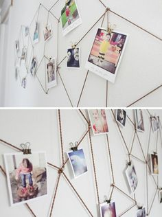 hoe je een tienermeisjeskamer met foto's kunt versieren - Apocalypse Now And Then My New Room, My Room, Girl Room, Diy Bedroom Decor, Bedroom Furniture, Living Room Decor, Home Decor, Teenage Room, Diy Photo