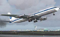 Pan Am´s DC8, flight PA-154 BCN NCE, on July 13,1961 in 50 m.