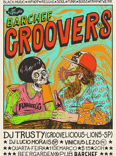 GROOVERS •BARCHEF • POSTER WEB