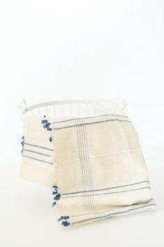 Ribbons Tablecloth   Blue