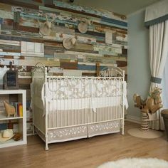Perfect child's bedroom flooring.  Songwriter Jewel's new nursery floor is an Armstrong Laminate.  Very versatile, but warm and inviting as well