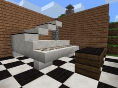 Minecraft Pocket Edition Furniture Ideas Design 1