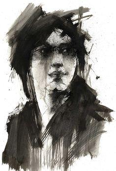 ink doodle by derekjones.deviantart.com on @DeviantArt