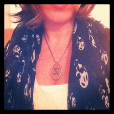 How awesome is my Z necklace?? Thanks @melvinjewelry !! - @zlife_andi- #webstagram