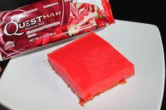 Not so ordi-NANNY me!: Quest Creation - Strawberry Cheesecake Jello Bars