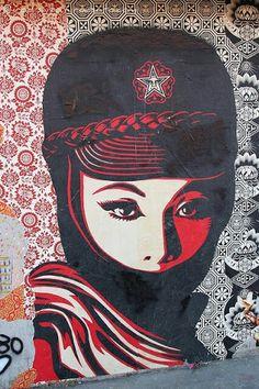 Street Art by Obey.
