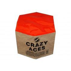 Crazy Aces - 500 Gram Cakes - Wild Willy's Fireworks