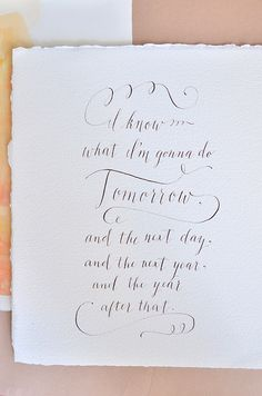 gorgeous calligraphy, and one of my favorite movies of all time