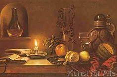 F. Wanner - Stilleben Mit Kerze