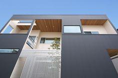 シンプルモダンの建築実例 ナラの家   作品集   千葉の注文住宅なら スタジオ・チッタ