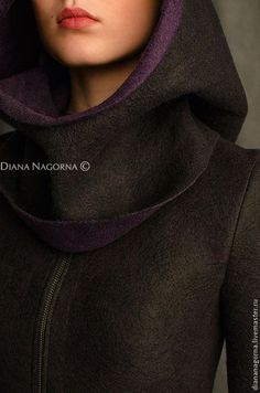 """Верхняя одежда ручной работы. Куртка из мериносовой шерсти """"Space girl"""". Диана Нагорная. Ярмарка Мастеров. Куртка с капюшоном"""