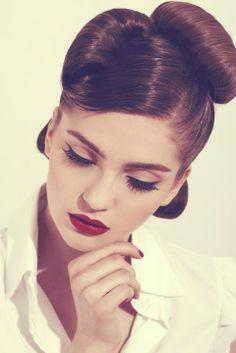 beautiful, eyeliner, face, fashion, girl, make up