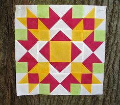 The Academic Quilter: Intricate Stitches--Red